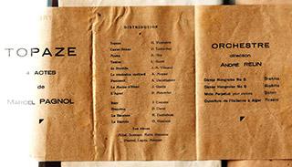 Page 53a, Programme - Topaze