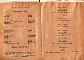 Page 54a, Theatre Francais programme