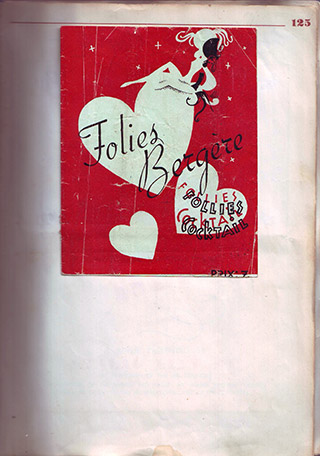 Page 95, Folies Bergere – Follies Cocktail